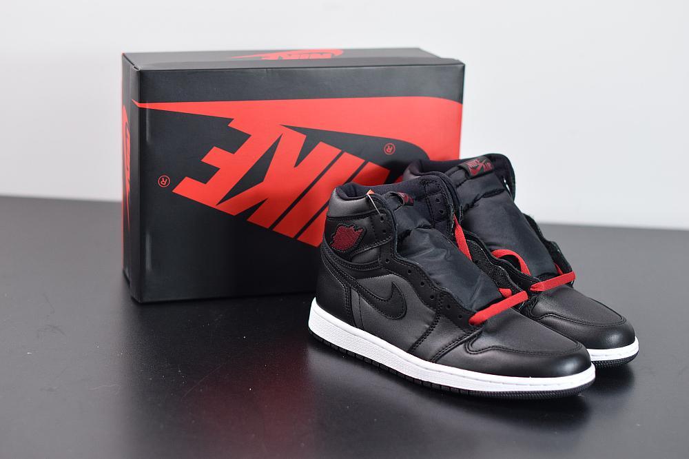 Air Jordan 1 Retro High OG Black Gym Red 14