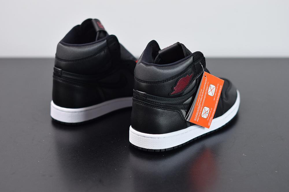 Air Jordan 1 Retro High OG Black Gym Red 2
