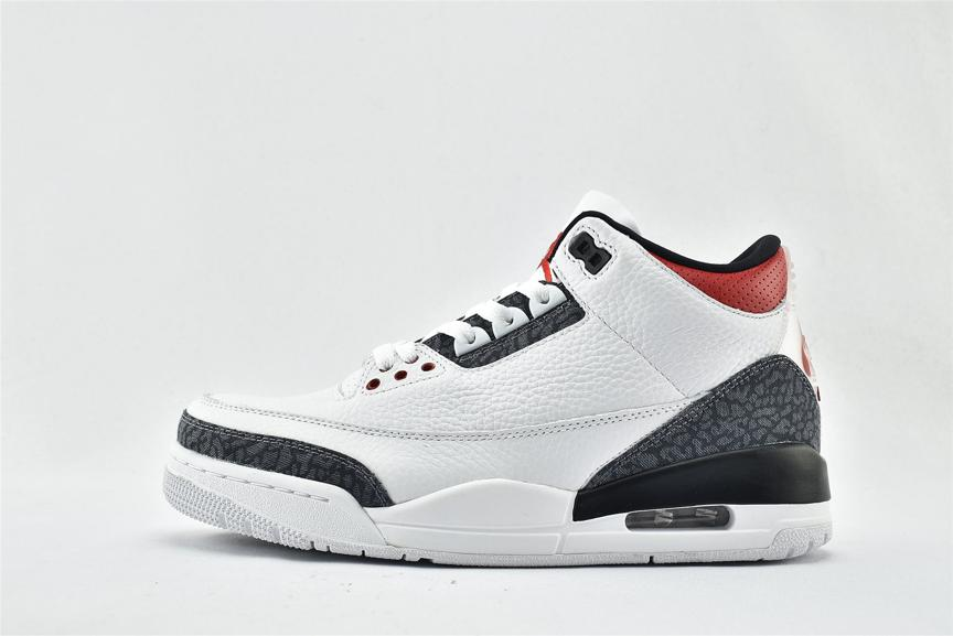 Air Jordan 3 Retro Denim SE Fire Red 1