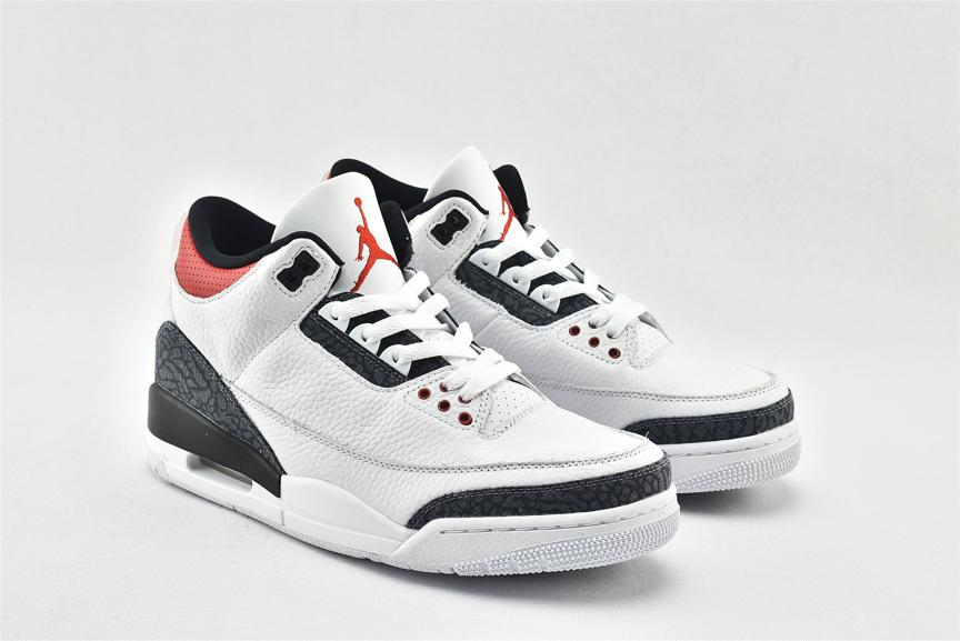Air Jordan 3 Retro Denim SE Fire Red 2
