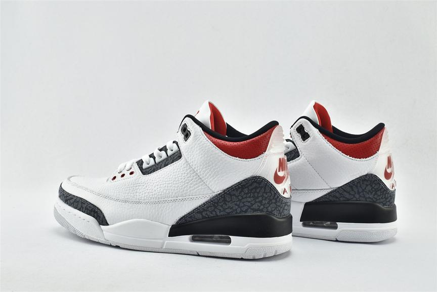 Air Jordan 3 Retro Denim SE Fire Red 6