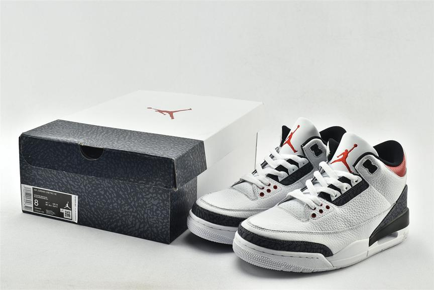 Air Jordan 3 Retro Denim SE Fire Red 7