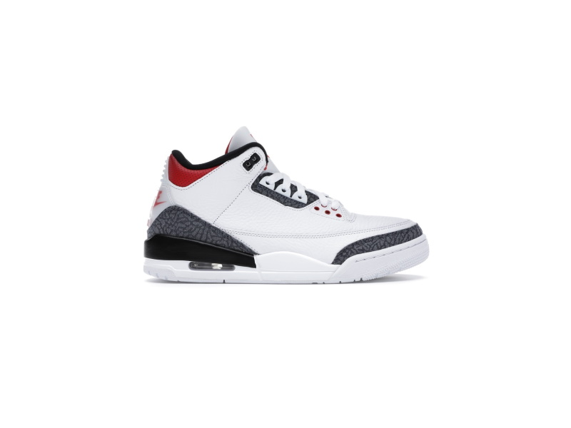 Air Jordan 3 Retro Denim SE Fire Red