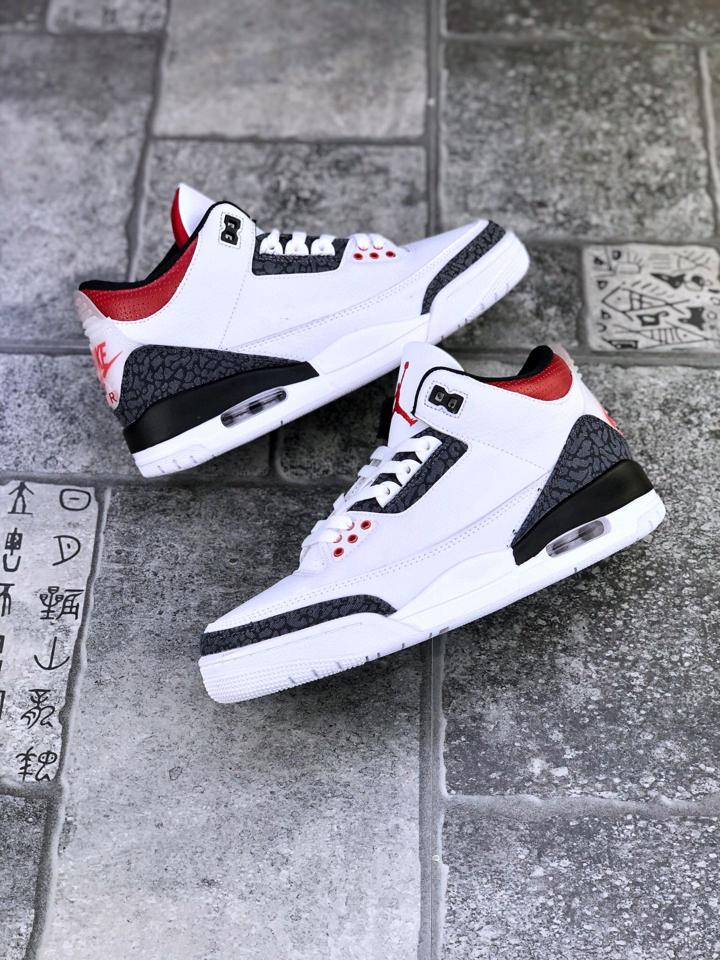 Air Jordan 3 Retro Denim SE GS Fire Red 1