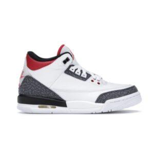 Air Jordan 3 Retro Denim SE GS Fire Red