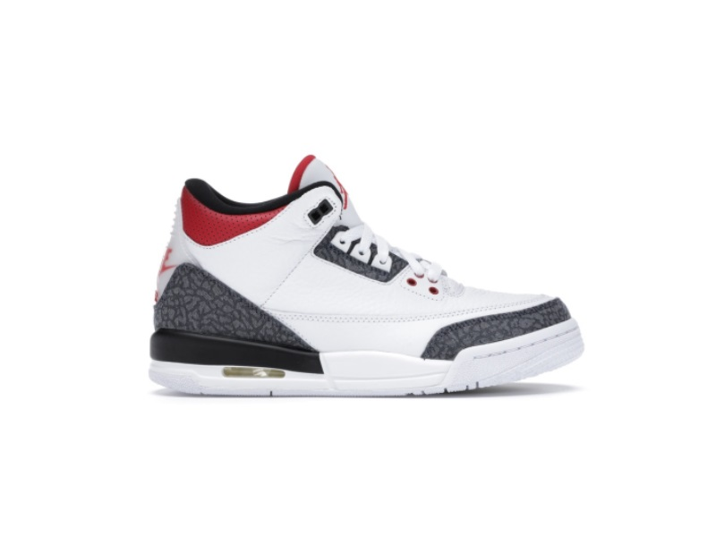 Air Jordan 3 Retro Denim SE GS Fire Red
