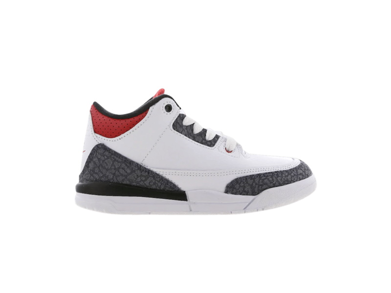 Air Jordan 3 Retro Denim SE PS Fire Red