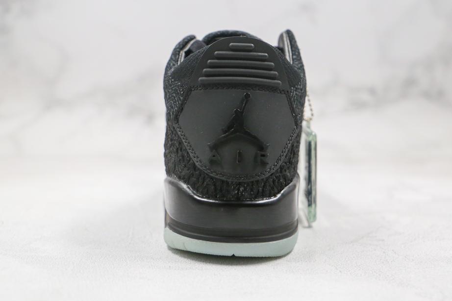 Air Jordan 3 Retro Flyknit Black 2