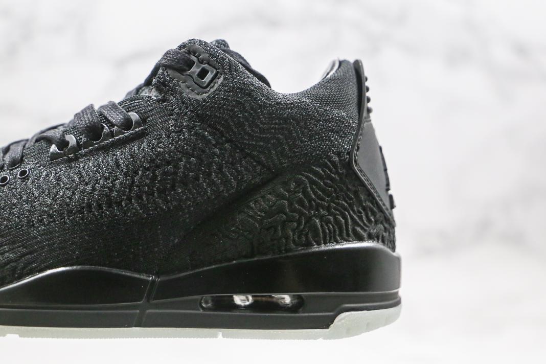 Air Jordan 3 Retro Flyknit Black 6
