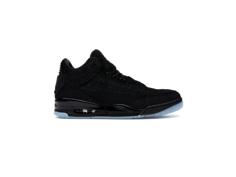 Air Jordan 3 Retro Flyknit Black