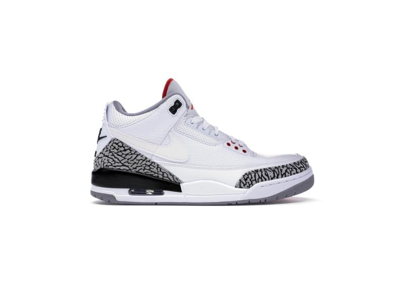 Air Jordan 3 Retro JTH NRG White Cement