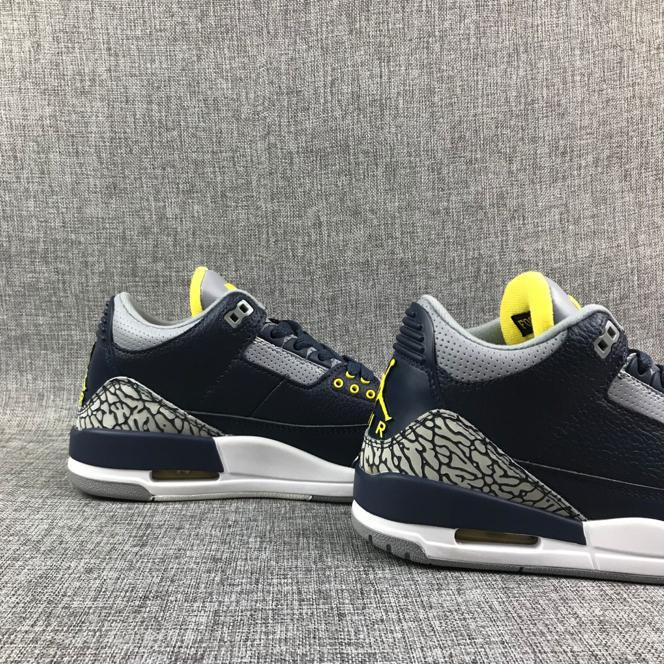 Air Jordan 3 Retro Michigan PE 3