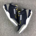 Air Jordan 3 Retro Michigan PE 4