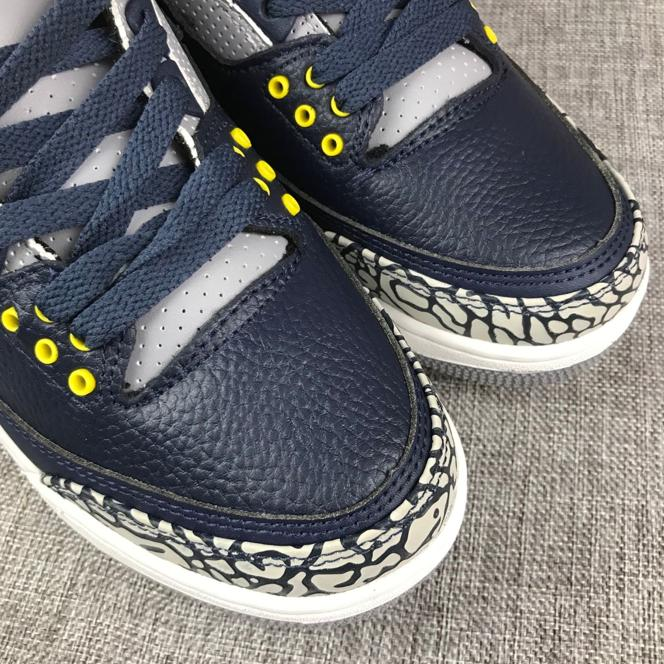 Air Jordan 3 Retro Michigan PE 5