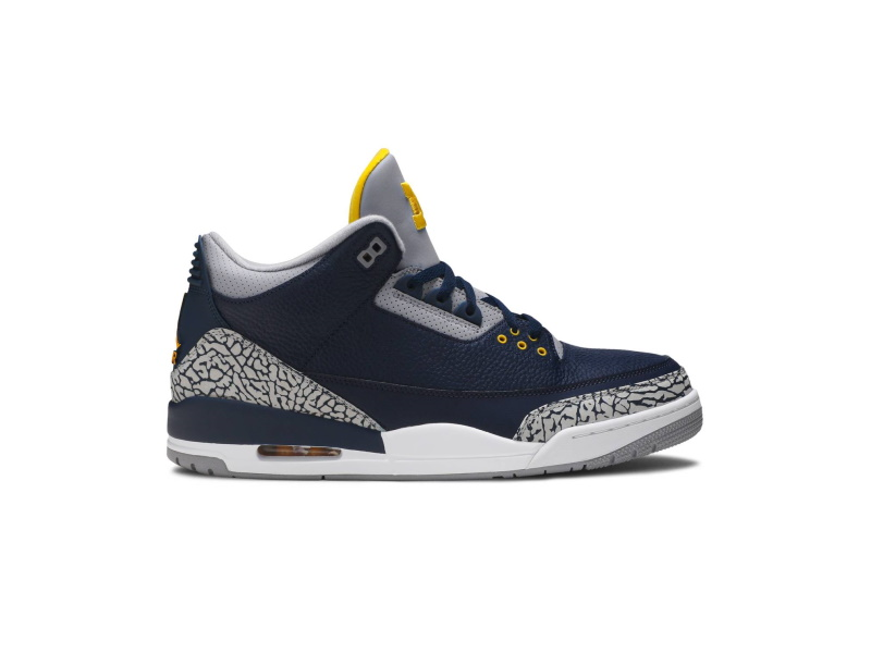 Air Jordan 3 Retro Michigan PE