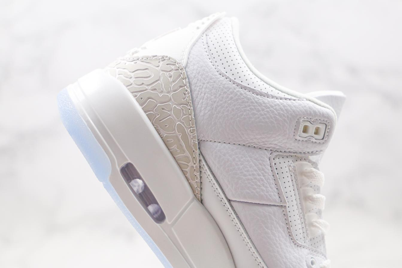 Air Jordan 3 Retro Triple White 4