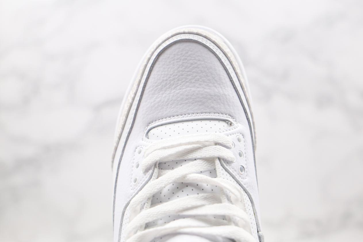Air Jordan 3 Retro Triple White 5