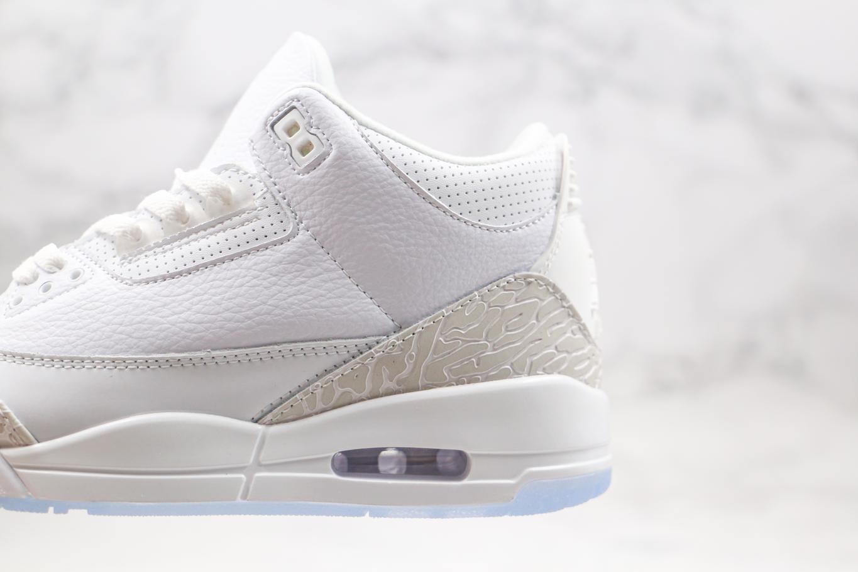 Air Jordan 3 Retro Triple White 6
