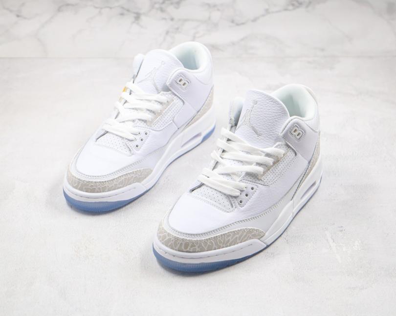 Air Jordan 3 Retro Triple White 7