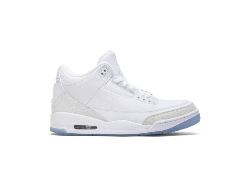 Air Jordan 3 Retro Triple White