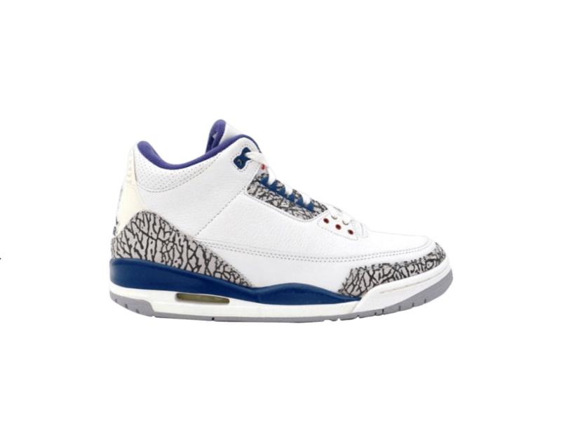 Air Jordan 3 Retro True Blue 2001