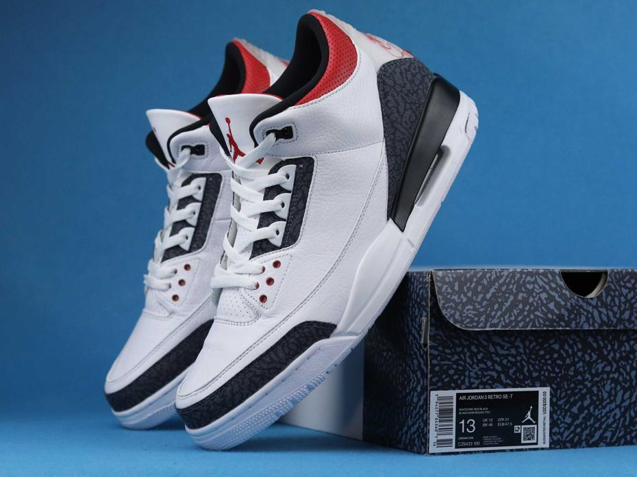Air Jordan 3 SE T Fire Red Japan Exclusive 8