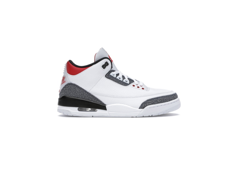 Air Jordan 3 SE T Fire Red Japan Exclusive