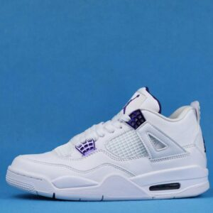 Air Jordan 4 Retro Purple Metallic 1
