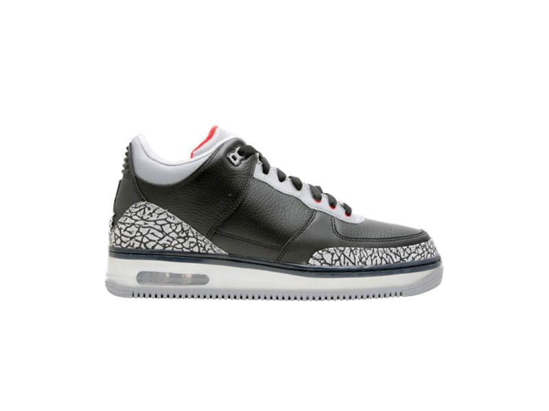 Air Jordan Fusion 3 Black Cement