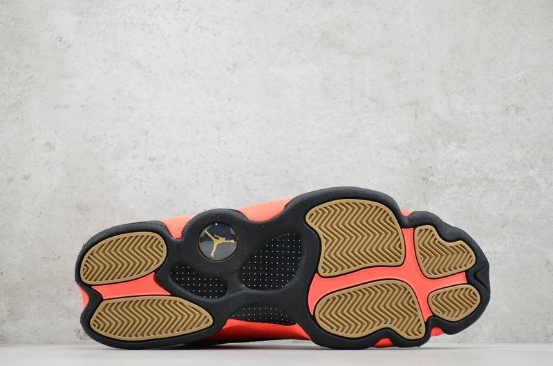 CLOT x Air Jordan 13 Retro Low Infra Bred 4