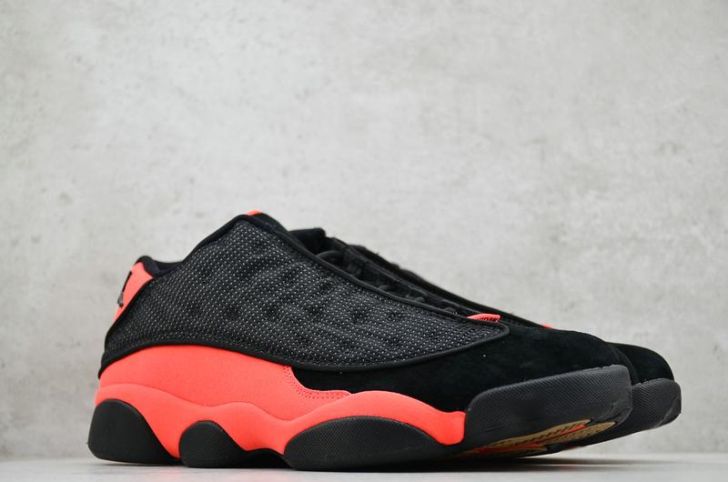 CLOT x Air Jordan 13 Retro Low Infra Bred 7