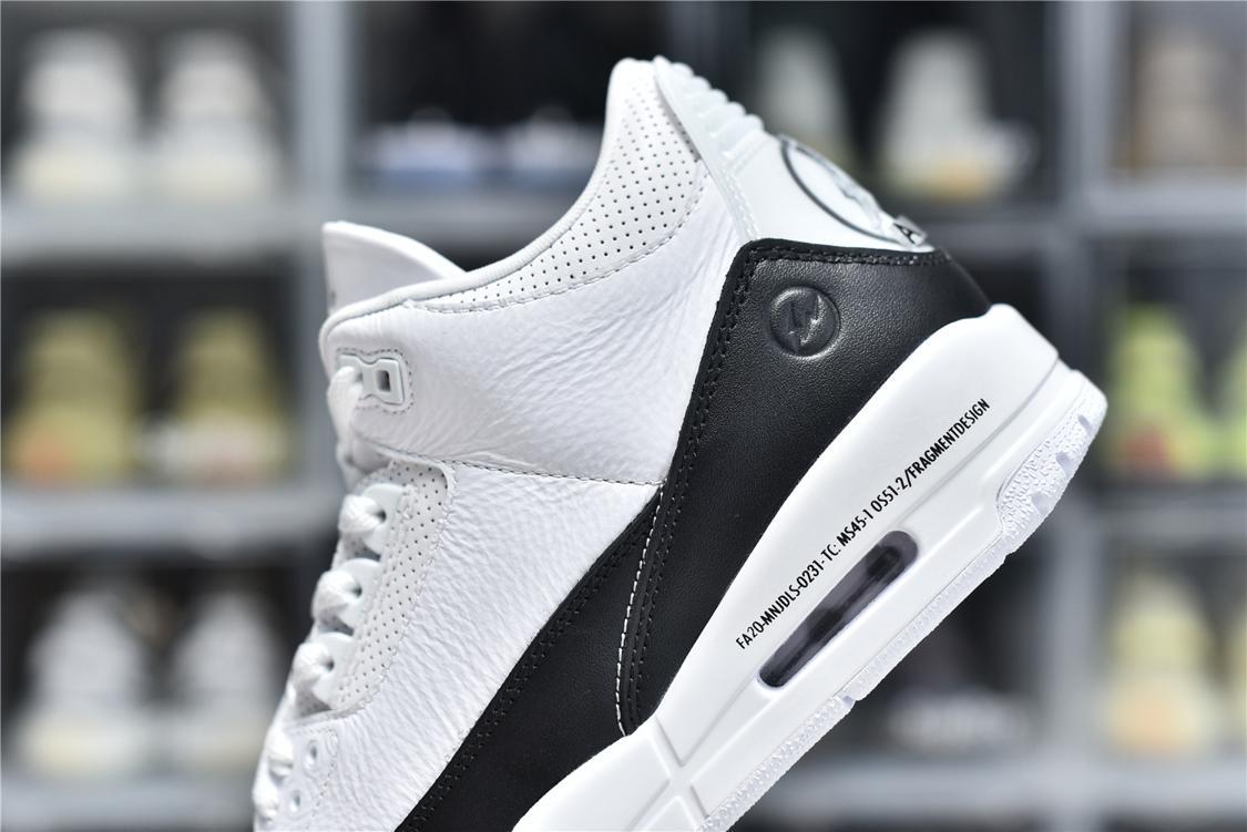 Fragment Design x Air Jordan 3 Retro SP White 11