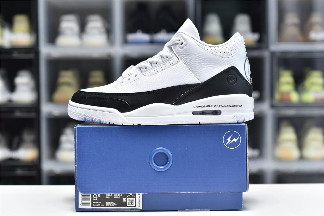 Fragment Design x Air Jordan 3 Retro SP White 6