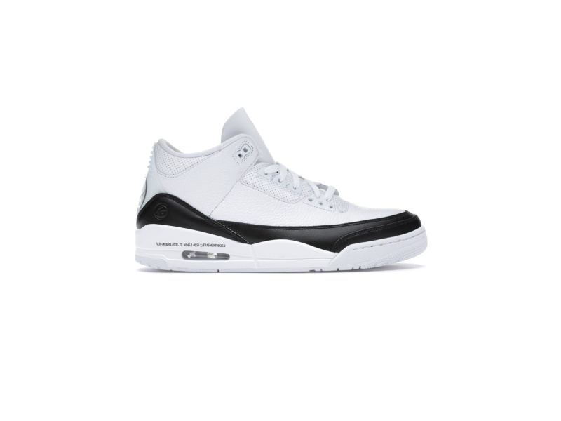 Fragment Design x Air Jordan 3 Retro SP White