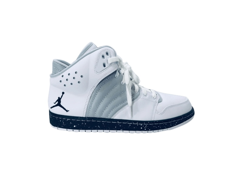 Jordan 1 Flight 4 Premium White Silver