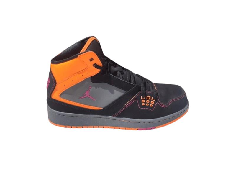 Jordan 1 Flight GS Black Orange