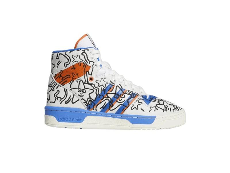 Keith Haring x adidas Rivalry High Pop Art