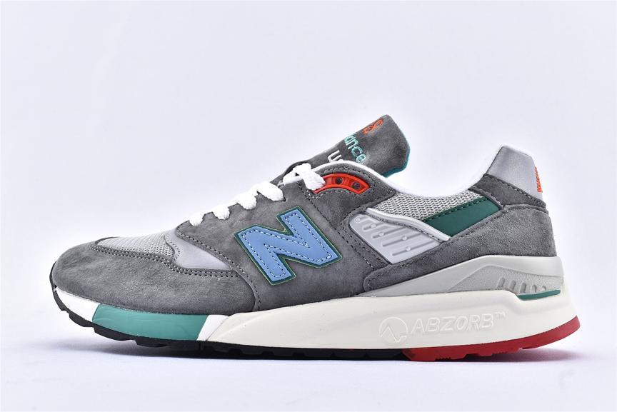 New Balance 998 Grey Green Blue 1