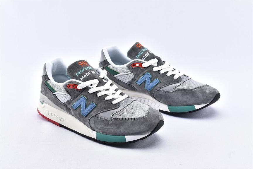 New Balance 998 Grey Green Blue 2