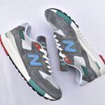 New Balance 998 Grey Green Blue 7
