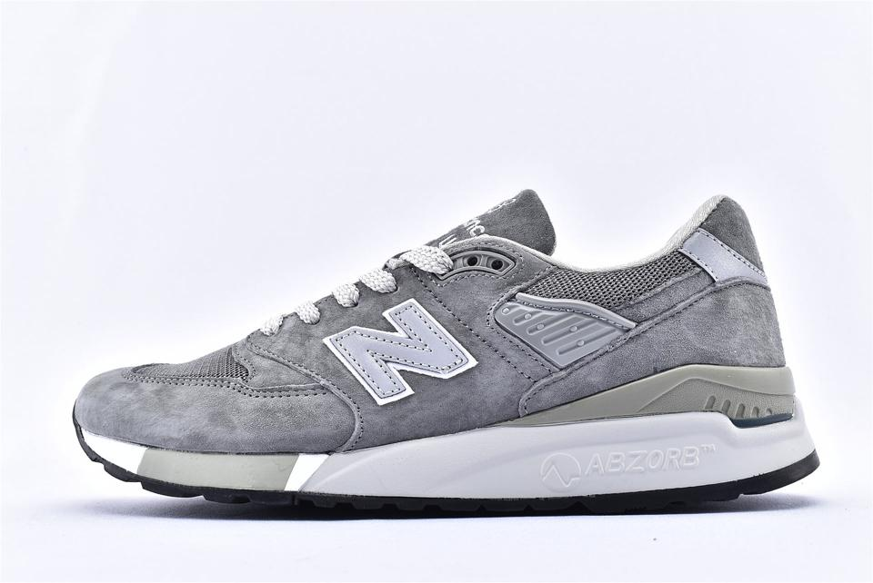 New Balance 998 Grey White 1