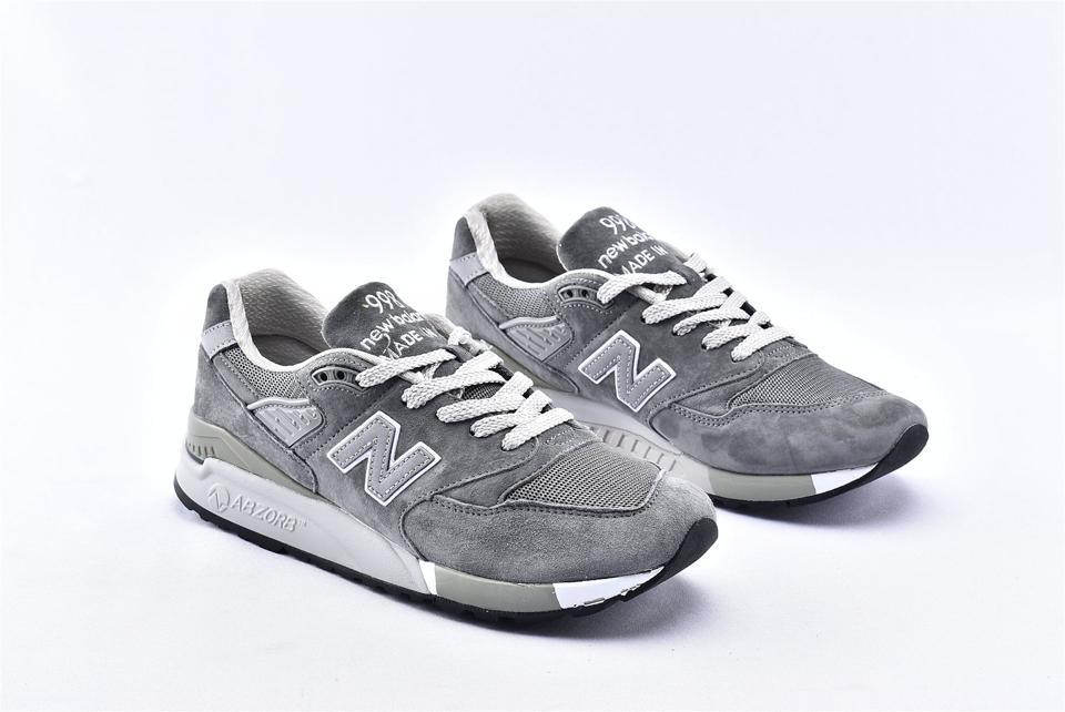 New Balance 998 Grey White 2