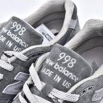 New Balance 998 Grey White 4