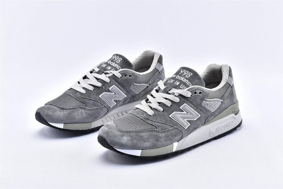 New Balance 998 Grey White 5