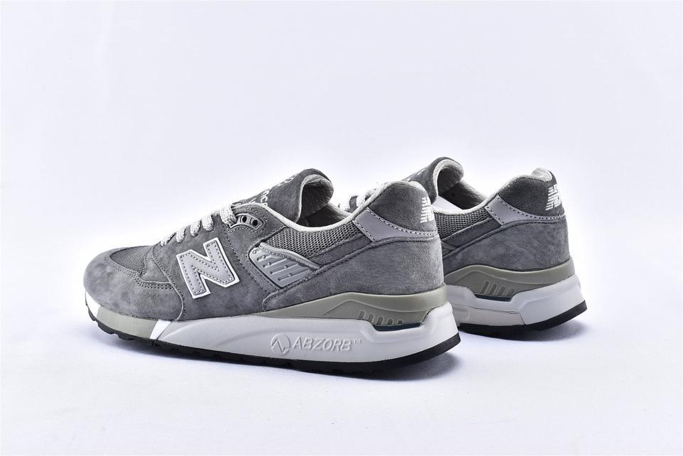 New Balance 998 Grey White 9