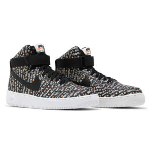 Nike Air Force 1 High Just Do It Pack Black 1