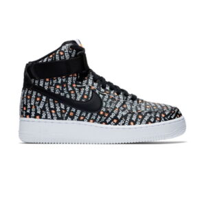Nike Air Force 1 High Just Do It Pack Black W