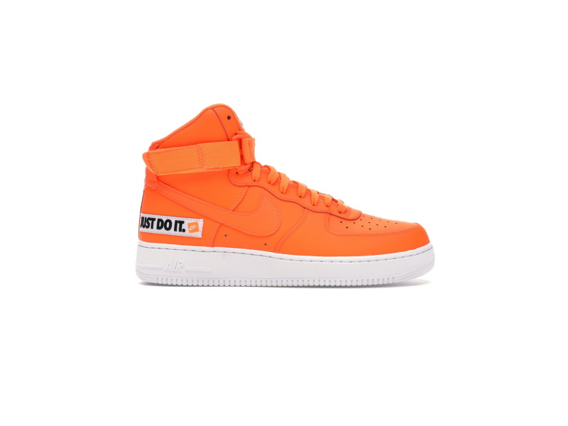 Nike Air Force 1 High Just Do It Pack Orange