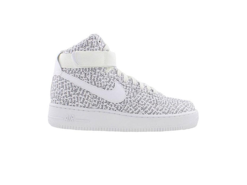 Nike Air Force 1 High Just Do It Pack White Black