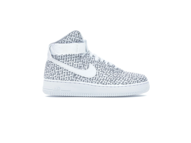 Nike Air Force 1 High Just Do It Pack White W
